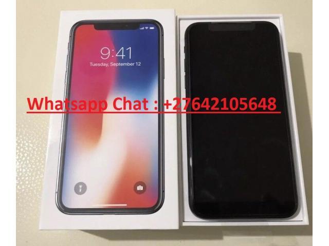 Apple iPhone X 64GB - €420 ,iPhone X 256GB €480,iPhone 8 64GB €350